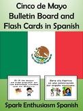 Cinco de Mayo Bulletin Board and Flash Cards in Spanish