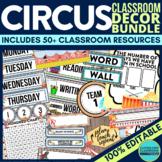 CARNIVAL / CIRCUS Classroom Theme EDITABLE Decor 34 Printa