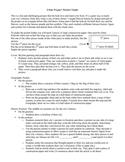 Cities Project Pocket Folder / City History Project