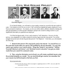 Civil War Resume Project