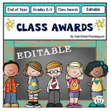End of the Year Class Awards {Editable}