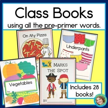 Class Books for Every Letter of the Alphabet, Using every PP word