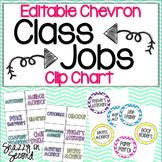 Class Jobs: Chevron Themed Clip Chart