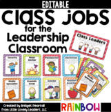 Class Jobs for the Leadership Classroom