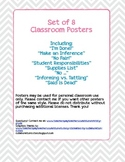 Class Posters - I'm Done, Fair vs. Equal, Inferences, Said