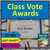 Class Awards - Class Votes  Kit
