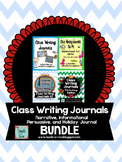 Class Writing Journals-  The Bundle