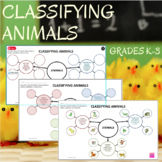 Classifying Animals - Reptiles, Amphibians, and Mammals