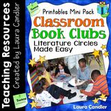 Classroom Book Clubs: Literature Circles Made Easy Printables