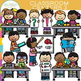 Little Shorties Classroom Centers Clip Art - Set Three