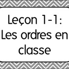 First Day of French Class Lesson 1:Classroom Commands/Les