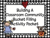 Classroom Community Building Bucket Filling Activity Packet