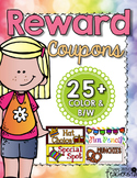 25+ Classroom Reward Coupons!