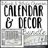 Classroom Decor- Black and White Chevron