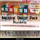Classroom Decor Nautical Theme - Numbers by Kim Adsit