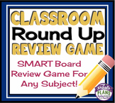 SMART BOARD REVIEW GAME (Classroom Round Up): A Fun Review