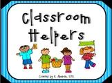 Classroom Helpers: A Classroom Job Set