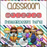 Classroom Helpers - ThistleGirl Designs Theme
