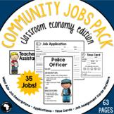 Classroom Jobs - Classroom Economy Edition