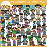 Little Shorties Classroom Jobs Clip Art - Set Two