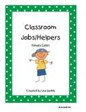 Classroom Jobs Primary Polka Dots