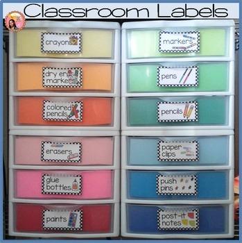 Classroom Labels
