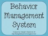 Classroom Magnetic Behavior Management System