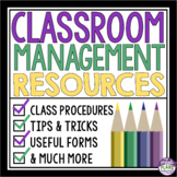 CLASSROOM MANAGEMENT RESOURCE BUNDLE: Middle & High School