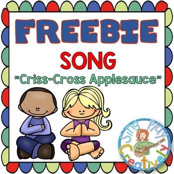 "Classroom Management Song to Sit Down ""Criss-Cross Applesa"