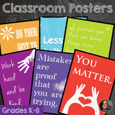 Classroom Posters, Inspirational Sayings