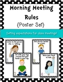 Classroom Posters {Morning Meeting} Setting Expectations
