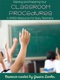 Classroom Procedures Checklist