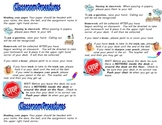 Classroom Procedures Student Guide