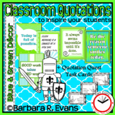 Classroom Quotations to Inspire Your Students - Blue + Gre