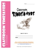 Classroom Timesavers - free printable forms and worksheets