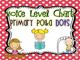 Classroom Voice Level Chart {Primary Polka Dots}