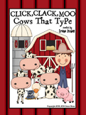 Click, Clack, Moo Cows That Type Activity Book Unit ~ Perf