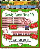 Clip Art Candy Cane Base Ten