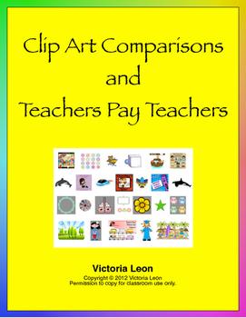 Clip Art Comparisons and Teachers Pay Teachers