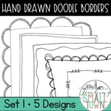 Swirly Doodle Frames- 20 Frames for Commercial Use