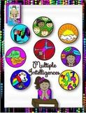 Clip Art~Multiple Intelligences Icons