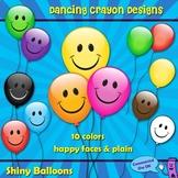 Clipart: Balloons Clip Art Set