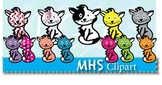 Clipart- Cats