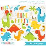 Clipart - Dinosaur Fun
