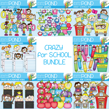 Crazy for School Bundle