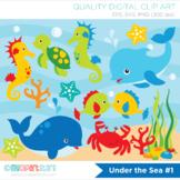 Clipart - Under the sea (#1) / surf / ocean