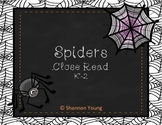 Close Read-Spiders