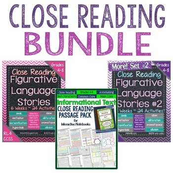 https://www.teacherspayteachers.com/Product/Close-Reading-Bundle-for-Grades-4-8-Bundle-Palooza-Lovin-Lit-1841061