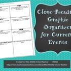 Close Reading Current Events Organizer