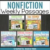 Close Reading Nonfiction Informational BUNDLE